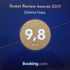 Гостиница Zelena Hata фото 4