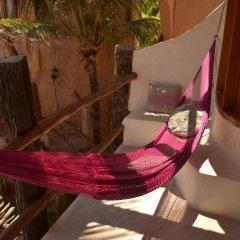 Отель Posada del Sol Tulum 3* Улучшенный номер с различными типами кроватей фото 10
