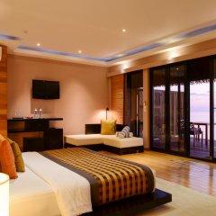 Отель Adaaran Prestige Vadoo 5* Вилла с различными типами кроватей фото 15