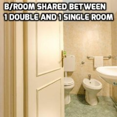 Отель Soggiorno Pitti 3* Стандартный номер с двуспальной кроватью (общая ванная комната) фото 19