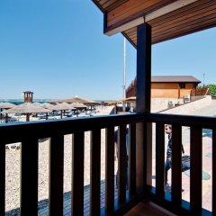 Гостиница Золотая бухта Бунгало с различными типами кроватей фото 23