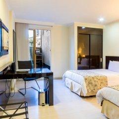 Porton Medellin Hotel 4* Номер категории Эконом с двуспальной кроватью фото 8