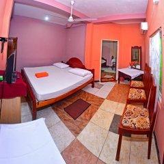 Deutsch Lanka Hotel & Restaurant 3* Стандартный семейный номер с двуспальной кроватью фото 6
