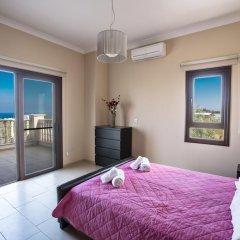 Отель Akefalou Sea View Villa Кипр, Протарас - отзывы, цены и фото номеров - забронировать отель Akefalou Sea View Villa онлайн комната для гостей фото 3