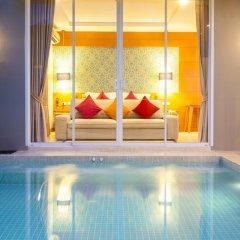 Отель APSARA Beachfront Resort and Villa 4* Улучшенный номер с различными типами кроватей фото 9