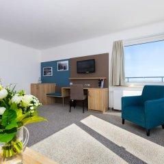 Отель Carat Golf & Sporthotel 4* Номер Комфорт с различными типами кроватей фото 6