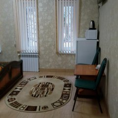 Гостевой дом Теплый номерок Номер категории Эконом с двуспальной кроватью фото 20