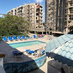 Отель Bocachica Beach Hotel Доминикана, Бока Чика - отзывы, цены и фото номеров - забронировать отель Bocachica Beach Hotel онлайн бассейн фото 2