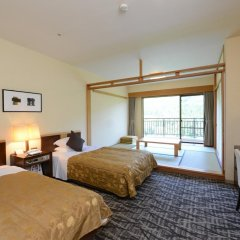 Hotel Harvest Kinugawa Никко комната для гостей