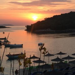 Отель Villa Edi&Linda Албания, Ксамил - отзывы, цены и фото номеров - забронировать отель Villa Edi&Linda онлайн пляж