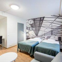 Отель Forenom Aparthotel Helsinki Herttoniemi Стандартный номер с различными типами кроватей фото 3