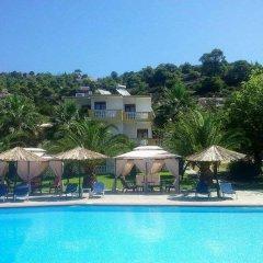 Отель Koviou Holiday Village бассейн