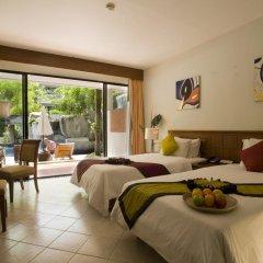Отель Sunset Beach Resort 4* Номер Делюкс с двуспальной кроватью фото 3
