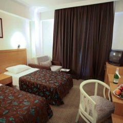 Perdikia Beach Hotel 3* Стандартный номер с различными типами кроватей фото 9