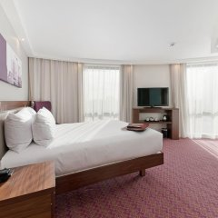 Отель Hampton by Hilton London Waterloo 3* Стандартный номер с различными типами кроватей фото 4