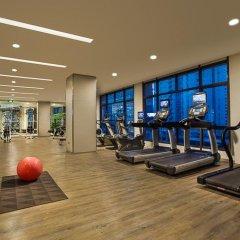 Отель Somerset Xu Hui Shanghai фитнесс-зал фото 3