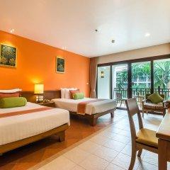 Отель Ravindra Beach Resort And Spa 5* Улучшенный номер с разными типами кроватей фото 2