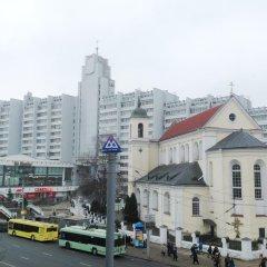 Апартаменты Molnar Apartments Минск балкон