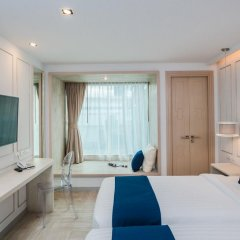 The Bloc Hotel 4* Номер Делюкс с двуспальной кроватью фото 5