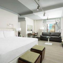 Отель Affinia Manhattan 4* Номер Делюкс с двуспальной кроватью