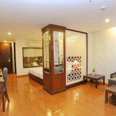 Hanoi Golden Hotel 3* Люкс с различными типами кроватей фото 3