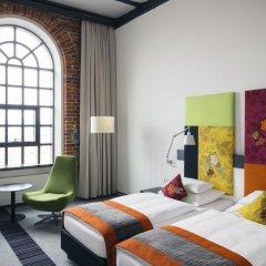 Отель Vienna House Andel's Lodz 4* Улучшенный номер с различными типами кроватей