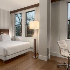 Отель NH City Centre Amsterdam 4* Стандартный номер с различными типами кроватей фото 4
