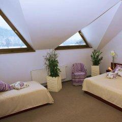Гостиница Troyanda Karpat 3* Стандартный номер разные типы кроватей фото 6