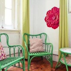 Lisbon Chillout Hostel Privates Стандартный номер с различными типами кроватей фото 5