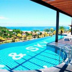 Апартаменты Sea & Sky Karon 2 bedrooms Apartment Sea View бассейн