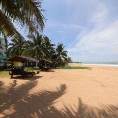 Отель Royal Beach Resort Шри-Ланка, Индурува - отзывы, цены и фото номеров - забронировать отель Royal Beach Resort онлайн пляж фото 2