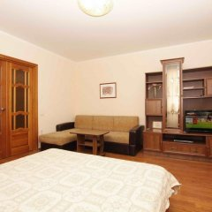 Апартаменты Альт Апартаменты (40 лет Победы 29-Б) Стандартный семейный номер с разными типами кроватей фото 8