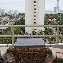 Отель VT 1 Serviced Apartments Таиланд, Паттайя - отзывы, цены и фото номеров - забронировать отель VT 1 Serviced Apartments онлайн балкон