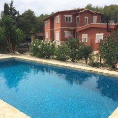 Отель Casa rural en Finestrat бассейн