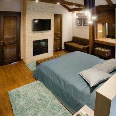 Гостиница Petrani Nivki комната для гостей фото 6
