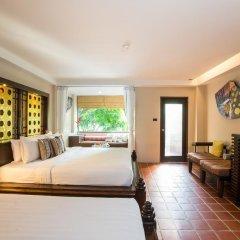 Отель Aonang Princeville Villa Resort and Spa 4* Семейный номер Делюкс с двуспальной кроватью фото 11