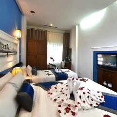 Nova Hotel 3* Номер Делюкс с различными типами кроватей фото 3