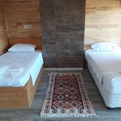 Отель Cirali Flora Pension 3* Стандартный семейный номер с двуспальной кроватью фото 15