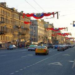 Апартаменты Nevskiy Air Inn 3* Студия с различными типами кроватей фото 29