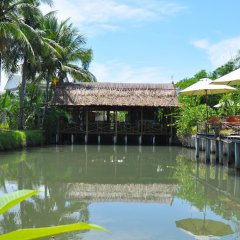 Отель Jardin De Mai Hoi An Вьетнам, Хойан - отзывы, цены и фото номеров - забронировать отель Jardin De Mai Hoi An онлайн приотельная территория фото 2