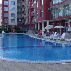 Отель Single Apartment in Global Ville Aparthotel Болгария, Солнечный берег - отзывы, цены и фото номеров - забронировать отель Single Apartment in Global Ville Aparthotel онлайн бассейн