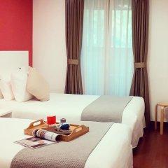 Отель N Fourseason Hotel Myeongdong Южная Корея, Сеул - отзывы, цены и фото номеров - забронировать отель N Fourseason Hotel Myeongdong онлайн комната для гостей фото 2