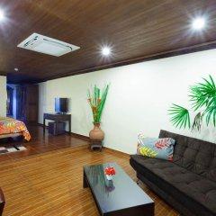 Отель Tropica Bungalow Resort 3* Семейный номер Делюкс с двуспальной кроватью фото 20