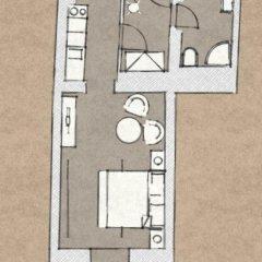 Отель 4 Arts Suites 3* Студия с различными типами кроватей фото 15