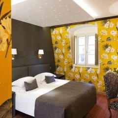 Отель Hôtel Saint Paul Rive Gauche 4* Улучшенный номер с различными типами кроватей фото 9