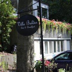 Отель Villa Balder Bed & Breakfast парковка