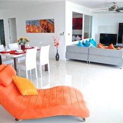 Отель Sunset Plaza Karon 2 bedrooms Nice Sea View комната для гостей фото 2