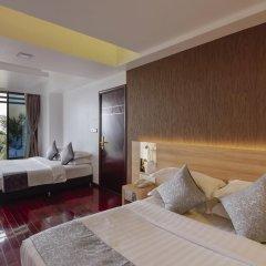 Arena Beach Hotel 3* Номер Делюкс с различными типами кроватей фото 5