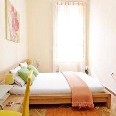Отель City Rooms Стандартный номер с двуспальной кроватью (общая ванная комната) фото 6