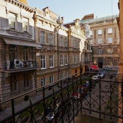 Гостиница Weekend in Lviv балкон